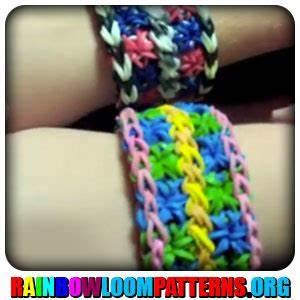 Rainbow Loom Bracelets | Rainbow Loom Patterns | Rainbow ...