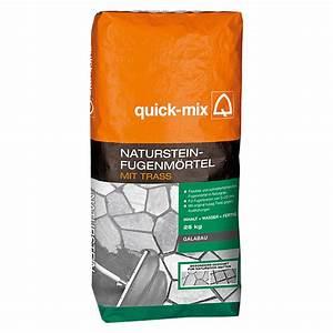 Ausgleichsmasse Quick Mix : quick mix natursteinfugenm rtel 25 kg bauhaus ~ Michelbontemps.com Haus und Dekorationen
