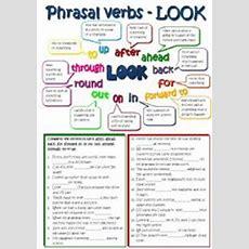 Phrasal Verbs  Look (b&w + Key Included)  Esl Worksheet By Mada1