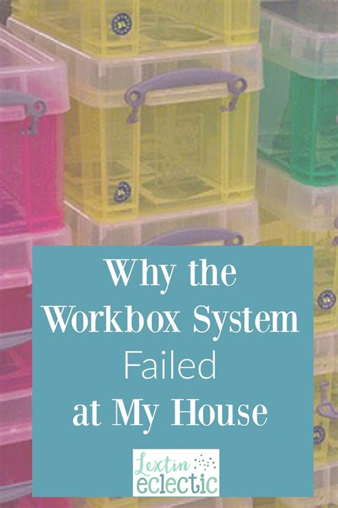 Why The Workbox System Failed At My House  Lextin Eclectic