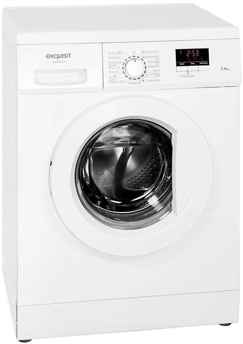 Exquisit Spülmaschine Reset exquisit wa 7114 7 waschmaschine im test 02 2019