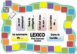 Dans Ce Contexte Synonyme : jeux fabriqu s lexico jeu de vocabulaire pour ce1 cycle 2 orph ecolecycle 2 orph ecole ~ Medecine-chirurgie-esthetiques.com Avis de Voitures