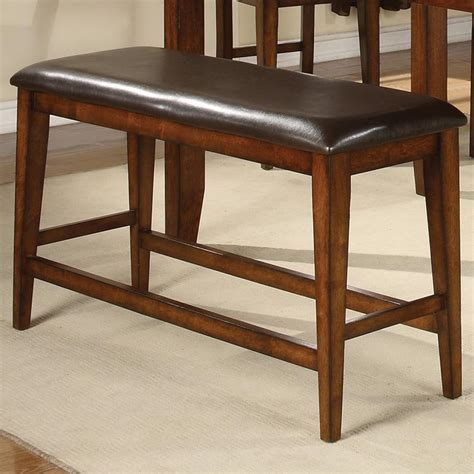Counter Height Settee by Crown Figaro 2701 Bench Counter Height Bench With