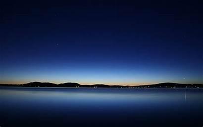 Water Lake Evening Dusk Backgrounds Desktop