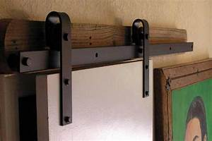 Barn door hardware barn door hardware kit lowe3939s for Barn door rails lowes