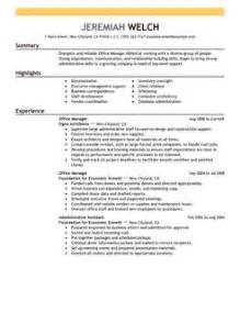 office manager cv exle resume for service desk manager writing and editing services attractionsxpress