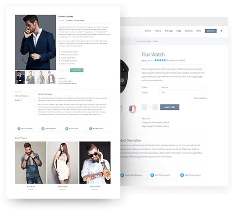 product page woocommerce avada