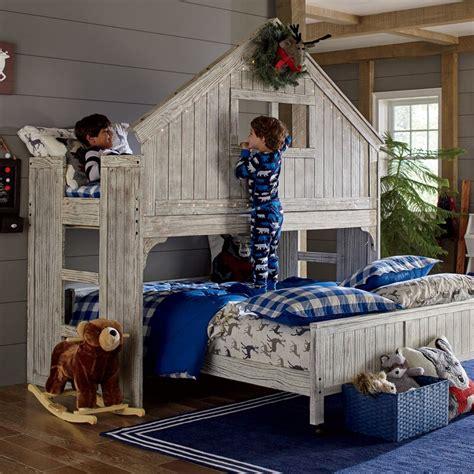 birch lane kids lake house twin  full bunk bed reviews wayfair