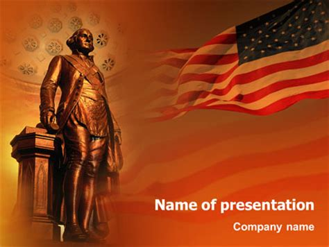 presidents day  template  powerpoint
