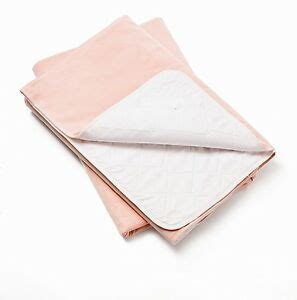 6 pink 34x36 bed pads reusable washable underpads incontinence hospital