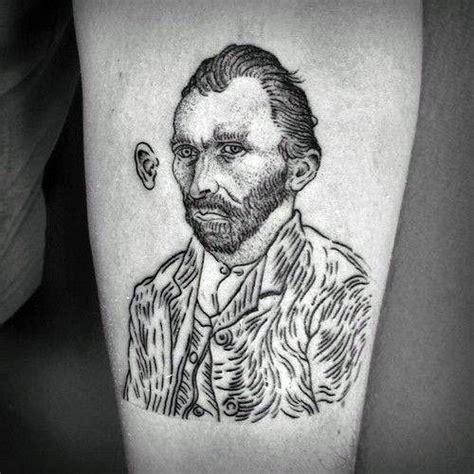vincent van gogh tattoo designs  men artistic ideas