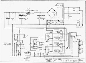 Soft Wiring  400w Kustom Amp Circuit Diagram