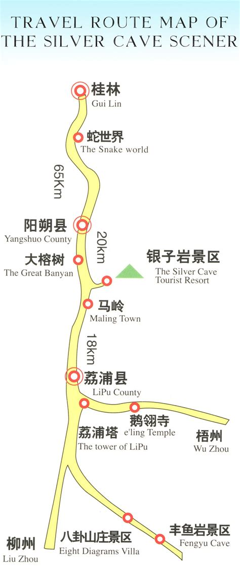 yangshuo map map  yangshuo yangshuo china map
