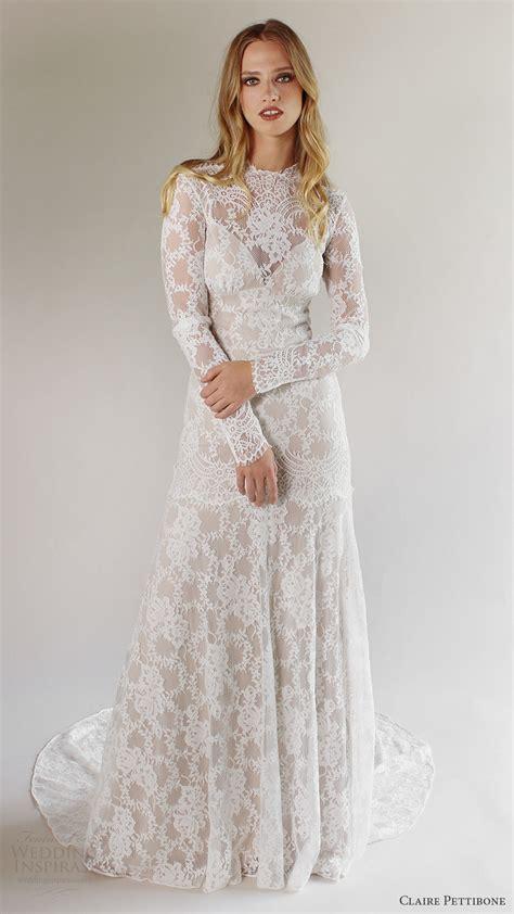 Romantique By Claire Pettibone Spring 2017 Wedding Dresses