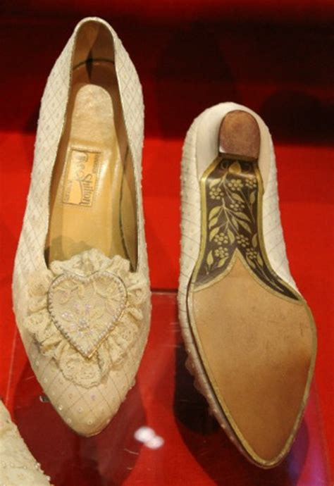 Diana Shoes by A Glimpse Into Princess Diana And Prince Charles Wedding