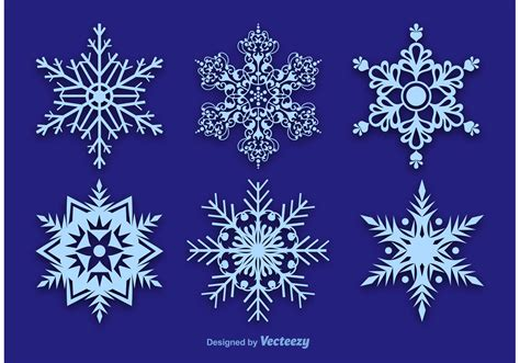 free snowflake snowflake vector decorations free vector stock graphics images