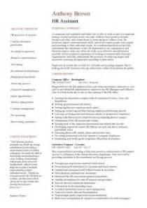 sle basic resume format exle cv hr advisor