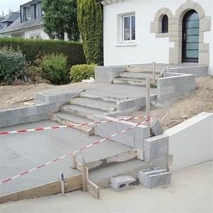 Comment Faire Une Dalle : ragr age ou mortier pour r fection partielle terrasse con faire une terrasse beton e ragreage ~ Farleysfitness.com Idées de Décoration