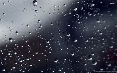 Sad Rain Wallpapers Background Backgrounds Drops Desktop