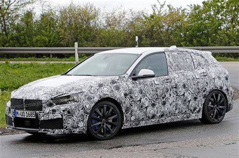 New Frontwheel Drive Bmw 1series Spied Winter Testing By