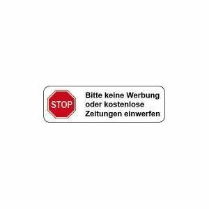 Bitte Keine Werbung Einwerfen Aufkleber Kostenlos : briefkasten aufkleber stop keine werbung hier g nstig kaufen ~ Frokenaadalensverden.com Haus und Dekorationen