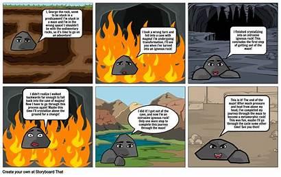 Cycle Comic Rock Storyboard