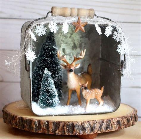 unique woodland christmas ideas  pinterest diy