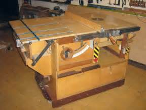 Homemade Table Saw Cabinet
