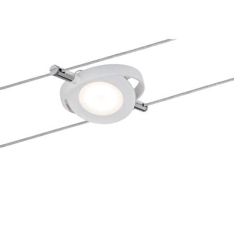 spot sur cable spot led sur c 226 ble 4w roundmac paulmann