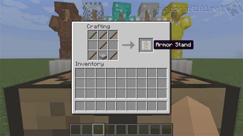 Armor Stands Minecraft armour stand minecraft