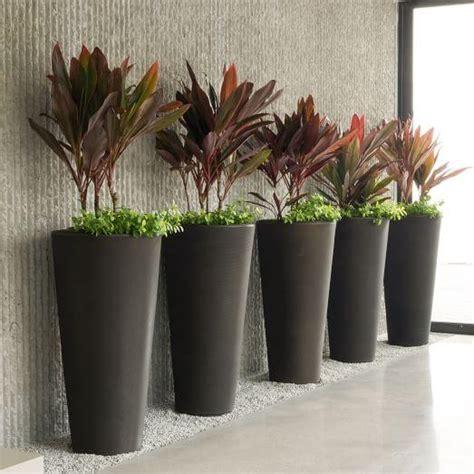tall fiberstone gray bowl