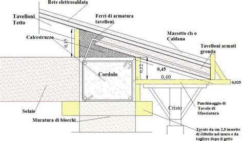 calcolo volume tetto a padiglione cordolo in cemento armato tavolo consolle allungabile