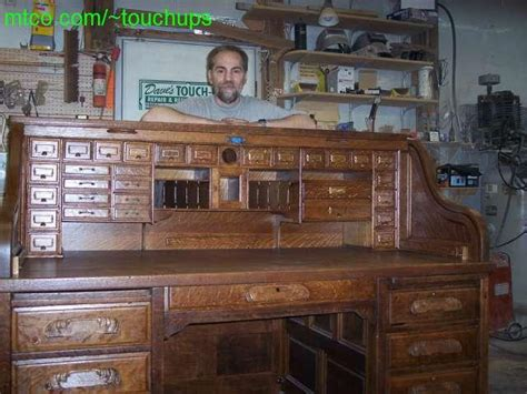 disassembly of roll top desk images