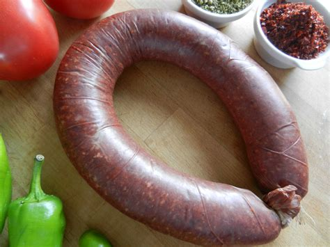spicy sausage is called sucuk