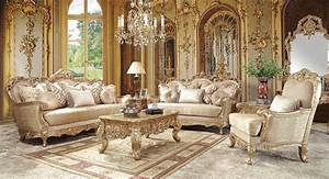 Formal, French, Style, Living, Room, Furniture, Set, Lr31