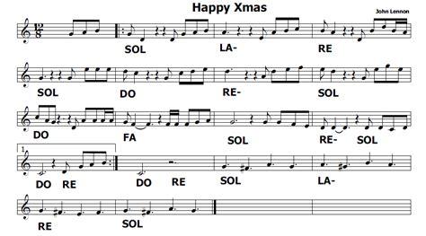 Happy Lennon Testo by Musica E Spartiti Gratis Per Flauto Dolce Happy Di