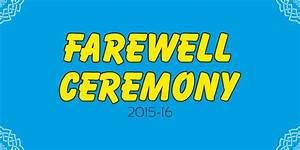farewell banners the best banner 2017 With farewell banner template