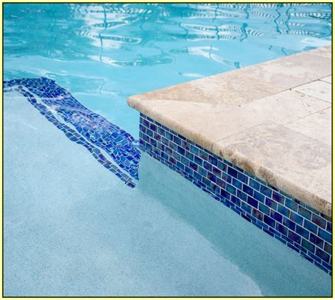 glass pool waterline tile glass tile pool waterline home design ideas
