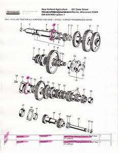 Ford 641 Transmission Gasket  Seal