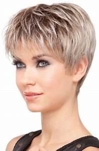 Coupe De Cheveux Pour Visage Rond Femme 50 Ans : coiffure courte femme 60 ans ~ Melissatoandfro.com Idées de Décoration