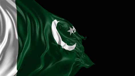 Pakistan Flag Animated Wallpaper - stock of flag of pakistan beautiful 3d animation of