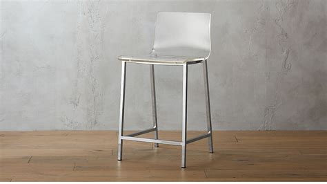 vapor  acrylic counter stool reviews cb