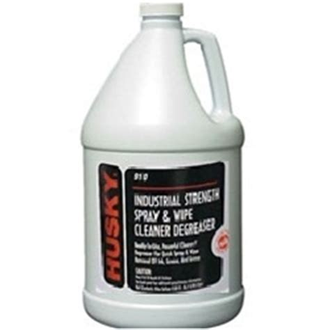 husky  industrial strength spray  wipe cleaner gallons