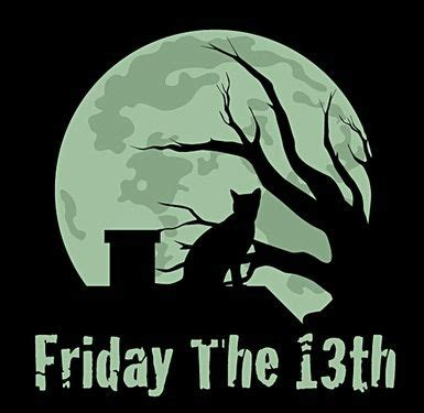 friday 13th clipart be careful june 13 2014 friday 13th and a moon