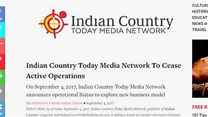 Award-Winning Indian Country Today Media Network ...