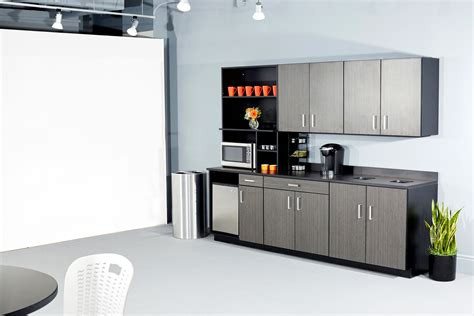 kitchen office furniture room cabinets safco breakroom lunch cabinets