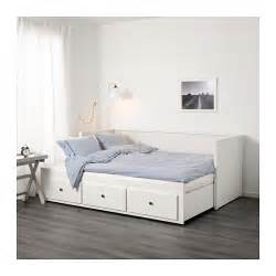 Lit Banquette Ikea Blanc by Hemnes Day Bed W 3 Drawers 2 Mattresses White Moshult Firm