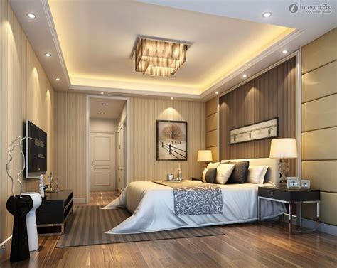 Bedroom Ceiling Design by Modern Master Bedroom Design Ideas With Luxury Ls White