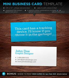 Mini business card template designers graphicriver for Mini business cards template