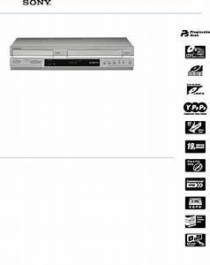 Sony Dvd Vcr Combo Slv
